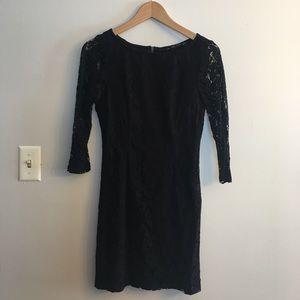 Zara Lace little Black dress ! 🎱🎬🎹🕋⌚️💣🖤